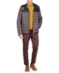 Etro - Blue Down Jacket for Men - Lyst
