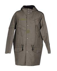 Alexander Wang   Green Coat for Men   Lyst
