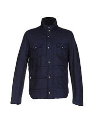 Obvious Basic | Blue Jacket for Men | Lyst
