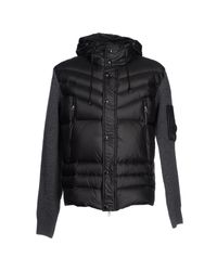 C P Company - Brown Down Jacket for Men - Lyst