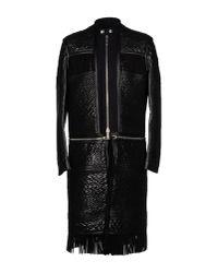 DSquared² | Black Coat for Men | Lyst