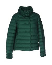 Armani Jeans - Green Down Jacket - Lyst