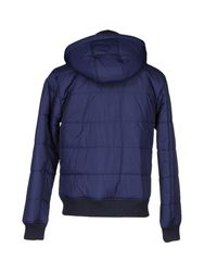 Frankie Morello - Blue Jacket for Men - Lyst