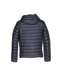 Geox - Blue Down Jacket for Men - Lyst