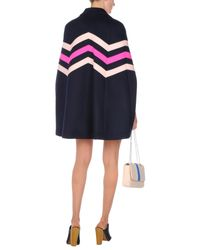 MSGM - Blue Cape - Lyst