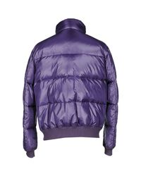 Fay - Brown Down Jacket for Men - Lyst