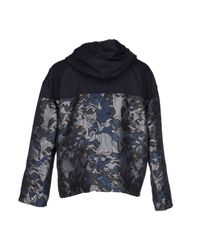 KENZO | Blue Jacket for Men | Lyst