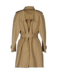 Prada - Natural Overcoat - Lyst