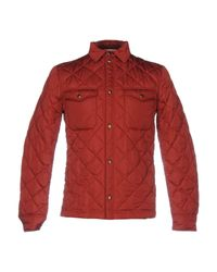 Obvious Basic   Red Jacket for Men   Lyst
