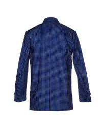 Ben Sherman - Blue Overcoat for Men - Lyst