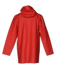 Stutterheim - Red Overcoats - Lyst