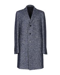 Tagliatore | Blue Coat for Men | Lyst