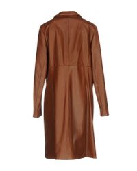 Fontana Couture - Brown Overcoat - Lyst