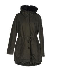 Liu Jo - Green Coat - Lyst