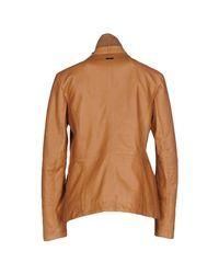 Trussardi - Brown Jacket - Lyst