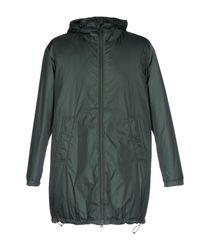 Aspesi | Green Coat for Men | Lyst
