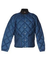 Bellerose - Blue Down Jacket for Men - Lyst