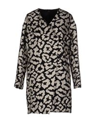 Carla G - Black Overcoat - Lyst