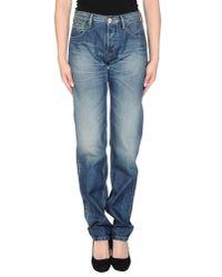 Twenty8Twelve | Blue Denim Trousers | Lyst