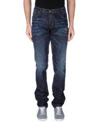 Tom Rebl | Blue Denim Trousers for Men | Lyst
