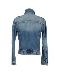 Frankie Morello - Blue Denim Outerwear for Men - Lyst