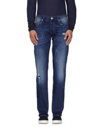 True Religion - Blue Denim Pants for Men - Lyst