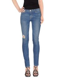 Textile Elizabeth and James | Blue Denim Pants | Lyst