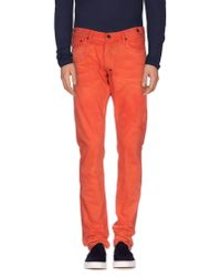 PRPS | Red Denim Trousers for Men | Lyst