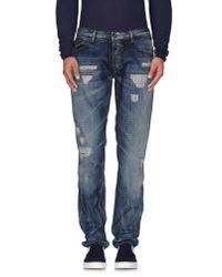 Just Cavalli | Blue Denim Pants for Men | Lyst
