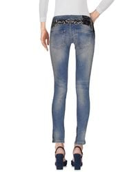 Philipp Plein | Blue Denim Trousers | Lyst