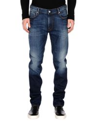 Stone Island | Blue Jeans Denim Used Slim Stretch for Men | Lyst