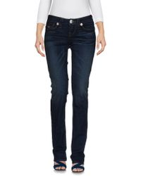 True Religion | Blue Denim Pants | Lyst