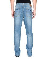 Jaggy - Blue Denim Pants for Men - Lyst