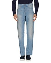 Carhartt | Blue Denim Trousers for Men | Lyst