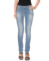 Dondup | Blue Denim Pants | Lyst