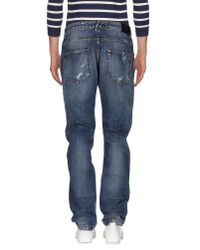 Balmain | Blue Denim Pants for Men | Lyst