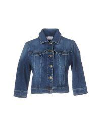 RED Valentino | Blue Denim Outerwear | Lyst