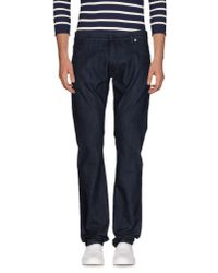Z Zegna - Blue Denim Pants for Men - Lyst