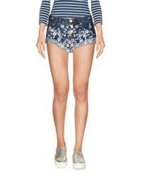 Glamorous | Blue Denim Shorts | Lyst