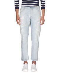 Entre Amis | Blue Denim Pants for Men | Lyst