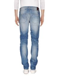 Fred Mello - Blue Denim Trousers for Men - Lyst