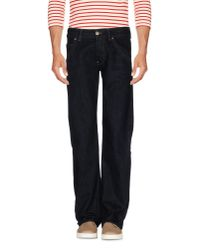Armani Jeans   Blue Denim Trousers for Men   Lyst