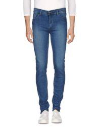 Cheap Monday - Blue Denim Trousers for Men - Lyst