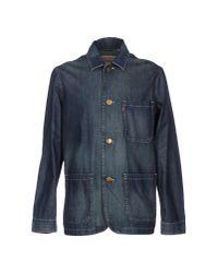 Levi's - Blue Blazer for Men - Lyst