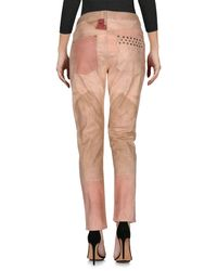 Isabel Marant - Pink Denim Pants - Lyst