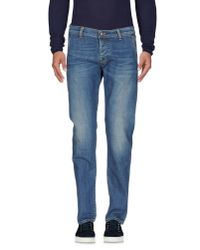 Roy Rogers - Blue Denim Pants for Men - Lyst