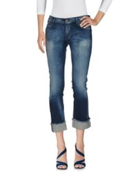 Citizens of Humanity - Blue Denim Pants - Lyst