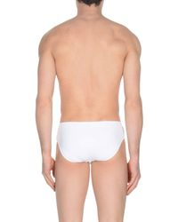 Fendi - White Swim Brief for Men - Lyst