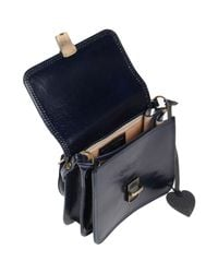 GIADA PELLE - Blue Cross-body Bags - Lyst
