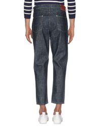 0/zero Construction - Blue Denim Pants for Men - Lyst